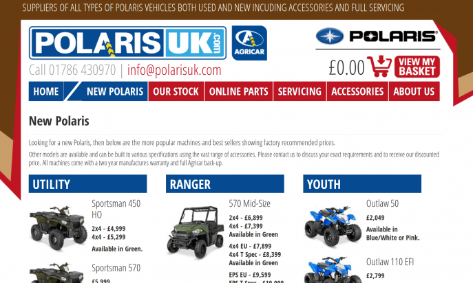 Polaris UK by SSOFB
