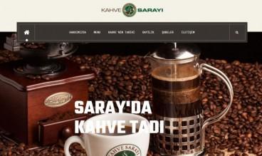Kahve Sarayı Corporate Site by Ortak Teknoloji