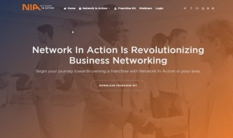 Network In Action Franchise by Texas Design Duo