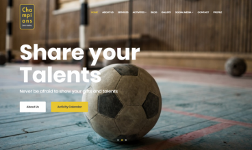 Champions Sports Academy by Moussa Solutions