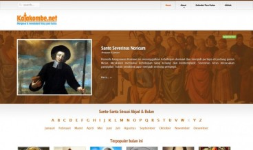 Catholic Saints Directory by Ricky Babanong