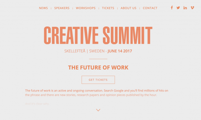 Creative Summit by WDO
