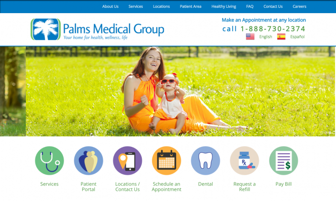 Palms Medical Group by Blu Dove Designs