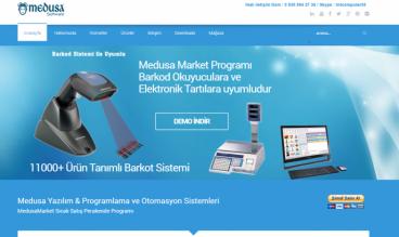 Medusa Software Market Otomasyon by GuneyDesign Web Studio