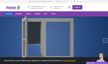 Sineset Flyscreen Systems by GuneyDesign Web Studio