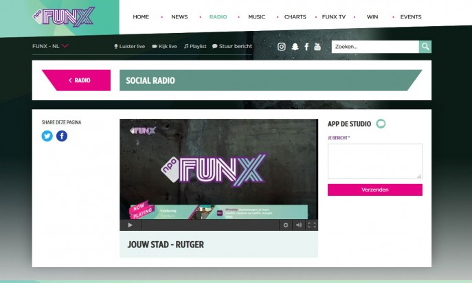 Award winning Funx.nl by Perfect Web Team