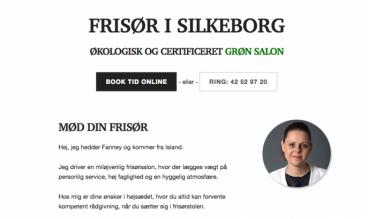 Frisør Stationen Silkeborg by Victor Jonsson