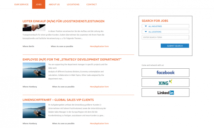 Facts & Skills recruiting by CreateWeb