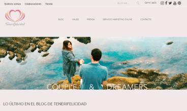 Tenerifelicidad Travel bloggers couple by Tenerifelicidad