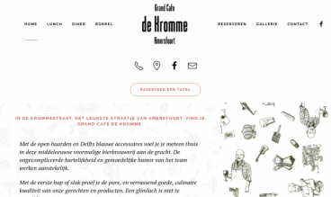 Grandcafe de Kromme, Amersfoort, The Netherlands by itsyourday webdesign