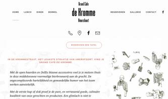 Grandcafe de Kromme, Amersfoort, The Netherlands by itsyourday webdesign