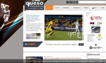 Quesomecanico.com - Albacete Balompié Soccer team Information Portal by Juan Luis Garcia