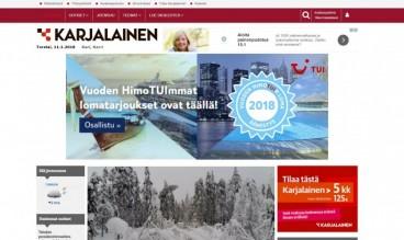 Karjalainen by Arttu Romo, Sanomalehti Karjalainen Oy, Fiare Oy, Jaicom Oy