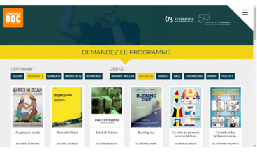 Film festival (Week-end du Documentaire) by Woluweb