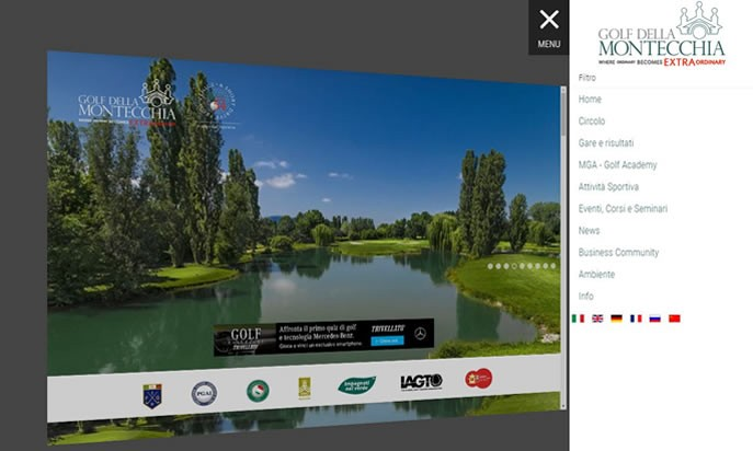 Golf della Montecchia by AS Web Agency srl