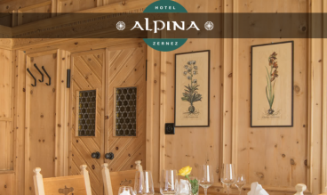 Hotel Alpina Zernez by ecomunicare.ch sagl Web Design