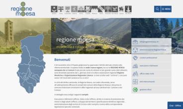Regione Moesa by ecomunicare.ch sagl Web Design