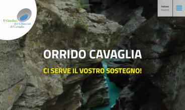 Orrido di Cavaglia by ecomunicare.ch sagl Web Design