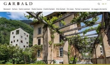 Villa Garbald by ecomunicare.ch sagl Web Design