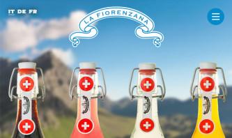 Gazosa La Fiorenzana by ecomunicare.ch Web Design
