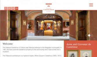 Palazzo Castelmur by ecomunicare.ch Web Design