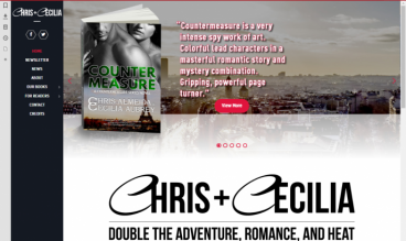 Chris Almeida & Cecilia Aubrey - Romance Authors by Mad Mango