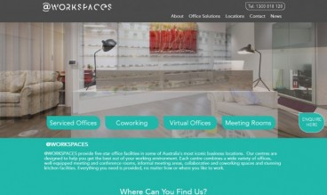 @workspaces Serviced Offices by Websites with Purpose