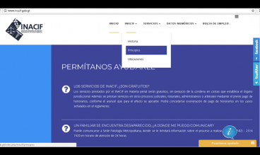 Instituto Nacional de Ciencias Forenses de Guatemala by Software Development Team -INACIF-