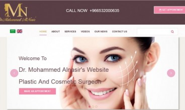 Dr. Mohammed Alnasir Plastic And Cosmetic Surgeon by Agate Web Solutions
