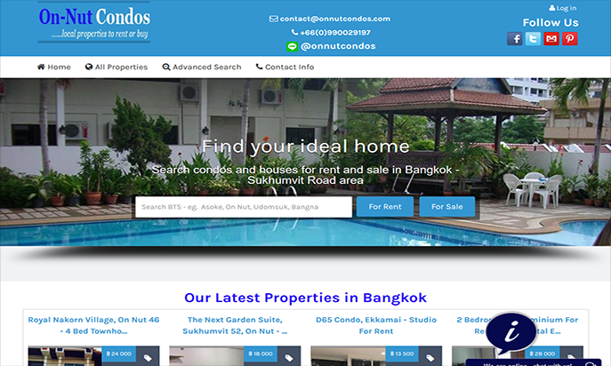 On Nut Condos Real Estate Agency - Bangkok by Istatics UK on behalf of On Nut Condos Co., Ltd, Thailand