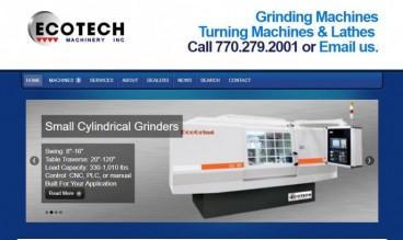 Ecotech Machinery - Industrial Grinding & Turning Machines by Jason Scott Montoya