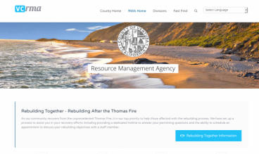 County of Ventura Resource Management Agency by County of Ventura