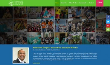 Emmanuel Hospital Association by Suanlian Tangpua