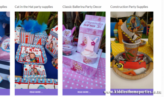 Kiddies Theme Parties by TM4Y Web Design