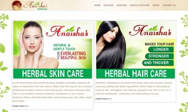 ANAISHAS - Lifestyle Products by DELHI WEBSITE STUDIO