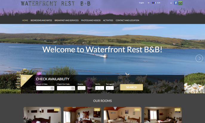 Waterfront Rest B&B - Independent Booking and Reservation solution by Puma - IT Services (Hervé Boinnard)