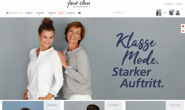 Först Class Corporate Fashion by Herzlich Nordisch by Melson Marketing & Media