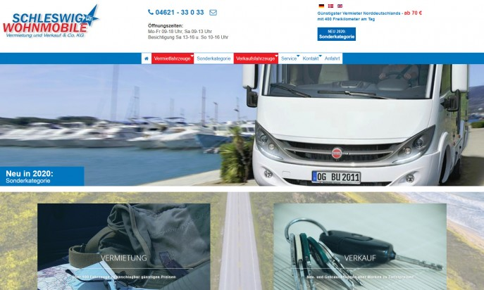 Schleswig Wohnmobile by Herzlich Nordisch by Melson Marketing & Media