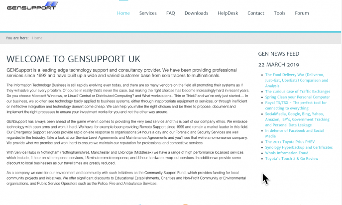 GENSupport (A Division of GEN) by The Software Guys at GEN