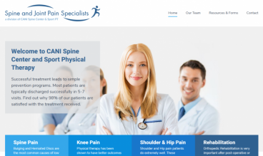 CANI Spine Center and Sport Physical Therapy by Coughlin Printing
