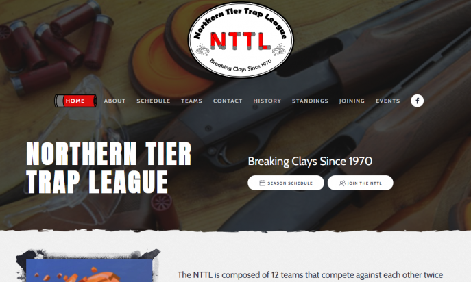 Nothern Tier Trap League by Coughlin Printing