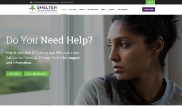 Shelter for Help in Emergency by Blue Cloud Studio