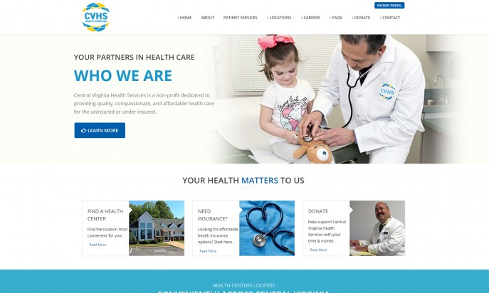 Central Virginia Health Services by Blue Cloud Studio