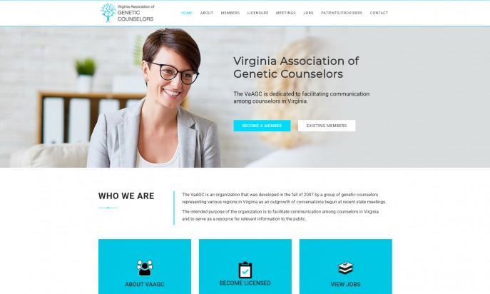 Virginia Association of Genetic Counselors by Blue Cloud Studio