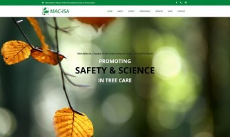 Mid-Atlantic Chapter of the International Society of Arboriculture by Blue Cloud Studio
