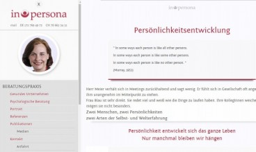 Elke Schlehuber - in persona by webart-workers: Joomla Freelancer Corporate Webdesign | SEO/SEM
