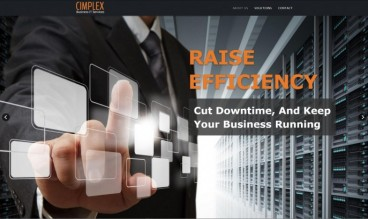 Cimplex Business IT Services by Web Design Ideas