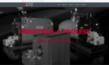 E.J. Walsh & Co. Inc. | Commercial Boiler Distributor by Web Design Ideas