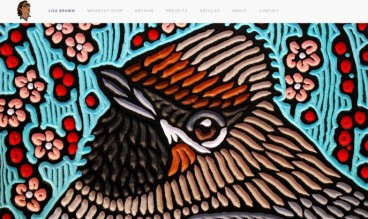 Lisa Brawn Woodcuts by MD3 Design