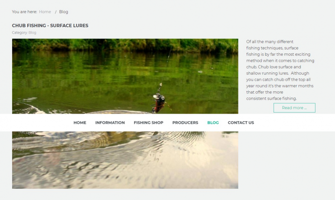 UlSpinning Fishing Shop by INDICO